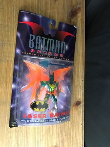 Hasbro 1999 DC Comics Batman Beyond LASER BATMAN Action Figure New Sealed