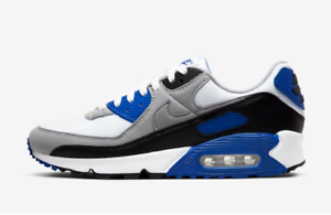 Nike-Air-Max-90-Blue-Multi-Size-US-Mens-Athletic-Running-Shoes-Casual-Sneakers