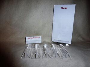10 ajustes de lugar nombre nombre de boda nombres de mesa titulares de menú titulares de la tarjeta.  </span>