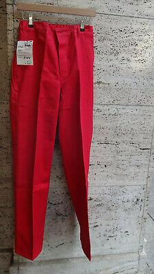 Arbeitshose Bp 100 % Baumwolle Rot Gr. 44 - 90 Neu Mit Originaletikett Profitieren Sie Klein