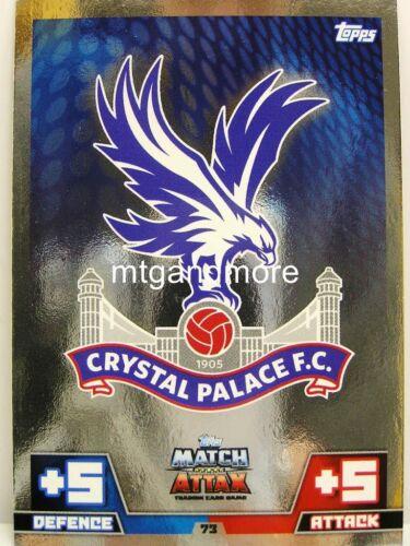 #073 crystal palace-Armoiries Match ATTAX 2014//15 premier League