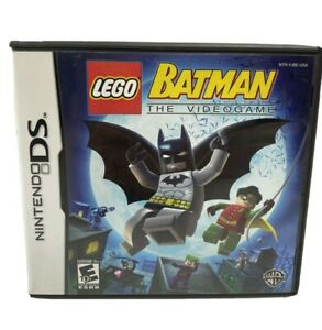 LEGO Batman: The VideoGame Nintendo DS Complete Tested Works