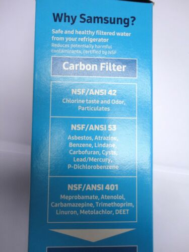 SAMSUNG RH77H80307H RH77H90507F RH77H90507H Filtro Acqua per Frigorifero Originale