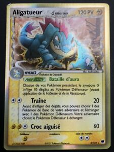 Carte-Pokemon-ALIGATUEUR-2-101-Holo-Ile-des-Dragons-Bloc-EX-FR