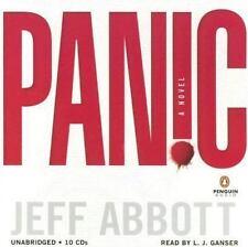 Panic by Jeff Abbott (2005, CD, Unabridged)