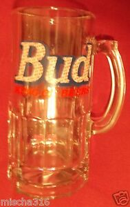 Budweiser-Bud-King-Of-Beers-32-Ounce-Mug-HUGE-Beer-Glass-Mug-HEAVY