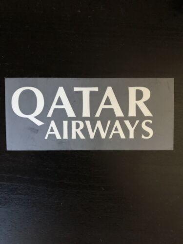 FC Bayern Munich sponsor patch manches matchworn Qatar Airways