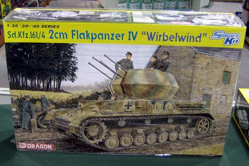 Dragon 1 35 Sd.Kfz.161 4 2cm Flakpanzer IV Wirbelwind 6540 SEALED