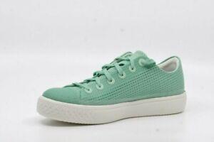 Converse verres Modern OX Vert Sneaker Chaussures De Sport Femmes Chuck Taylor NEUF