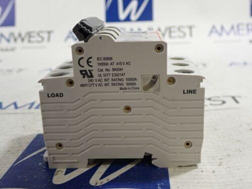 50 AMP 3 Pole 240 Volt UL1077 C50 LS ELECTRIC BK63H Din Rail Circuit Breaker NEW