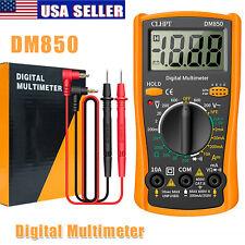 Lcd Digital Voltmeter Ammeter Ohmmeter Multimeter Volt Ac Dc Tester Meter Dm850