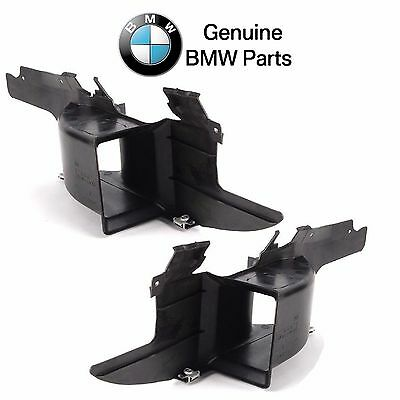 For BMW E39 525i 528i Auto Trans Pair Set of Left /& Right Lower Air Duck Genuine
