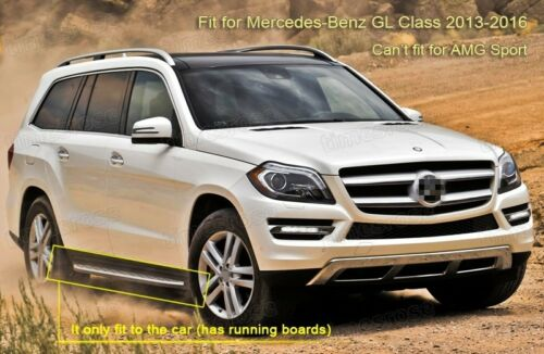 Car Mud Flaps Splash Guard Fender Mudguard for Mercedes-Benz GL-Class 2013-2016