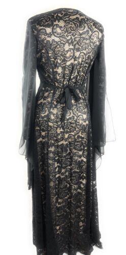 Robe longue robe de soirée chauve-souris Robe de cocktail abayas Jilbab Modeste Vêtements