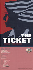 THE TICKET MUSICAL UNUSED COLOUR POSTCARD (a)