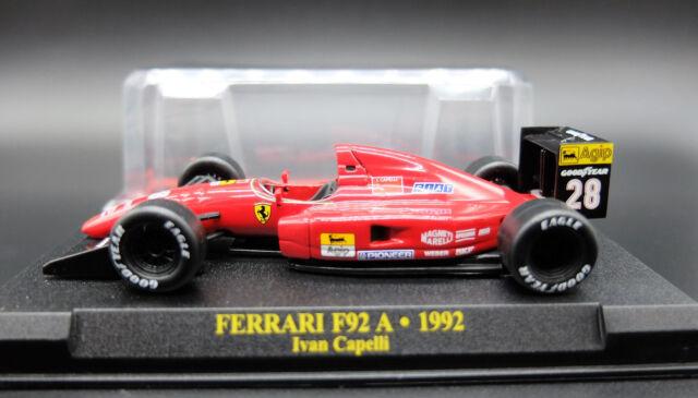 FERRARI FORMULA 1 UNO F1 1/43 F92 A MODELLINO AUTO CAR MODEL DIECAST IXO ALTAYA