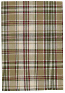 Hand Towel Green Burgundy Tan Kitchen Dining Thyme by Park Designs