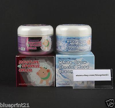 Elizavecca Milky Piggy White Crow Glacial More Cream + Moisture Sparkle Cream