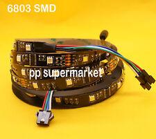 5M 5050 RGB LED Strip Flex Light LPD 6803 IC NonWaterproof Magic Dream black pcb