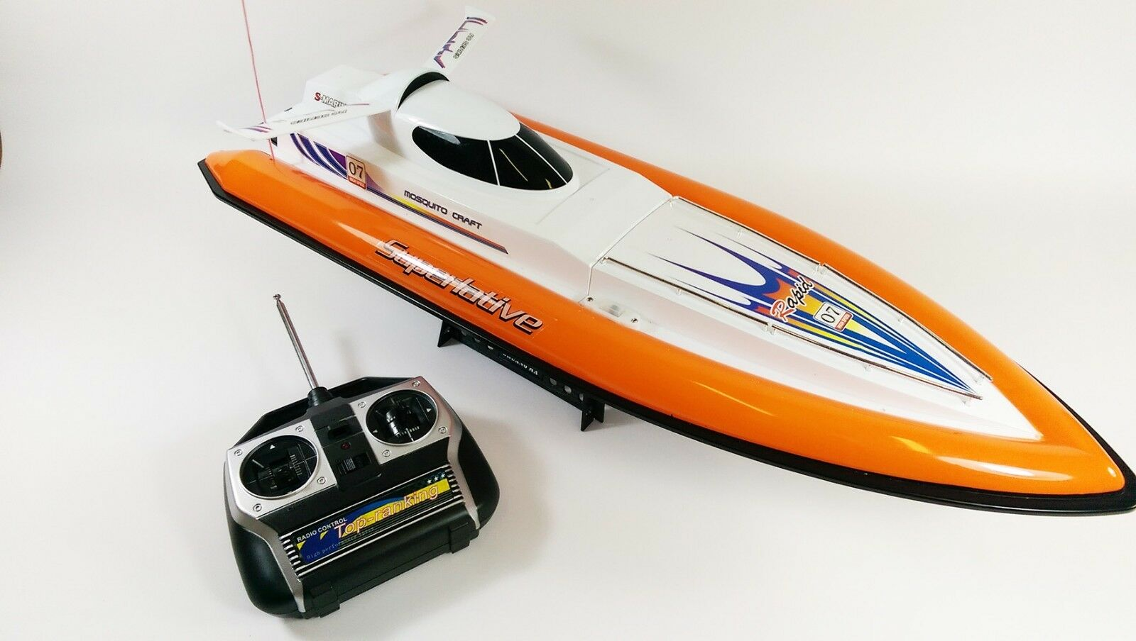 7007 Flying Pesce doppio Horse Horse Horse Radiocouomodo RC Speed Racing Boat EP RTR af00db