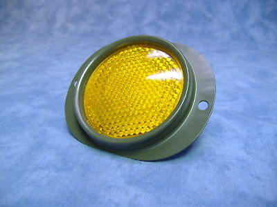Military Truck Military Trailer Set of 2 Amber Yellow  Reflector  M101