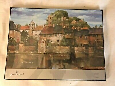 Pimpernel Cork Backed Placemats 18x12 Tuscan Scenes Set Of 4 NIB