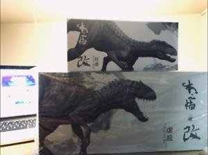Bereserker Rex Figurine Indominus Dinosaur Model Figure Collector Decor Toy