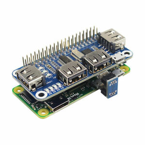 Details about Raspberry Pi 4 Port USB Hub USB to UART Debugging for  Raspberry Zero/W