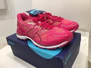 New Asics Women s GEL NIMBUS 20 Bright Rose Apricot Running Shoes ... 56d4e1725