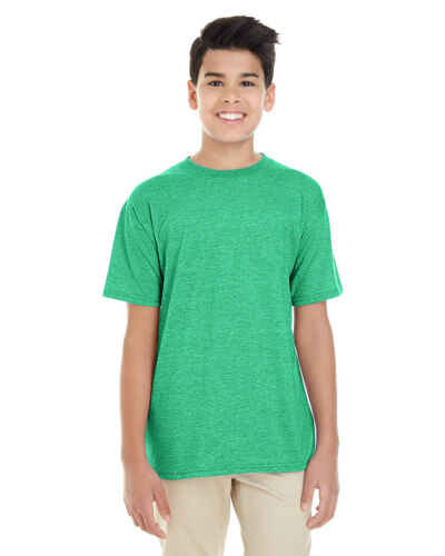 Gildan Youth SoftStyle Short Sleeve T-Shirt 2 Pack G645B All Sizes