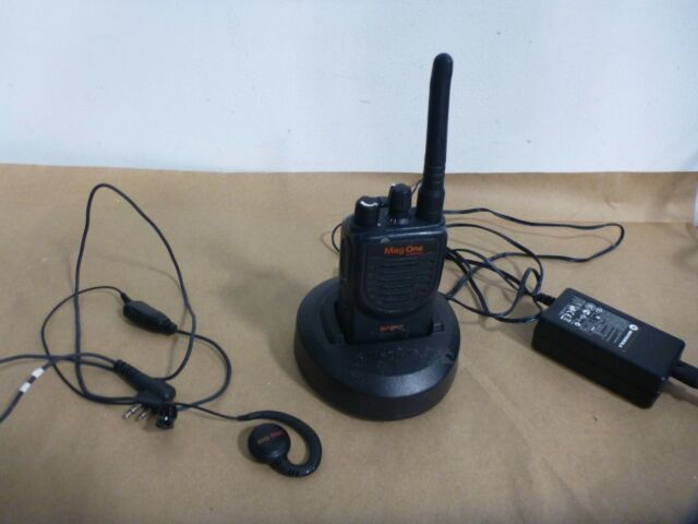 RS-232 motorola walkie talkie MAG ONE A8 BPR40 programming cable