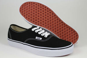 Image is loading VANS-AUTHENTIC-BLACK-WHITE-CLASSIC-SKATE-SKATEBOARDING-ERA- a545152cb