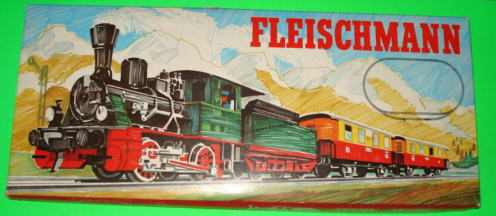 Fleichmann ferrocarril  starterset 6375 en OVP con Lok Betty  Mega rar  top