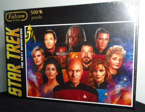 FALCON De Luxe 500 Jigsaw Puzzle STAR TREK NEXT GENERATION Picard NEW /& SEALED