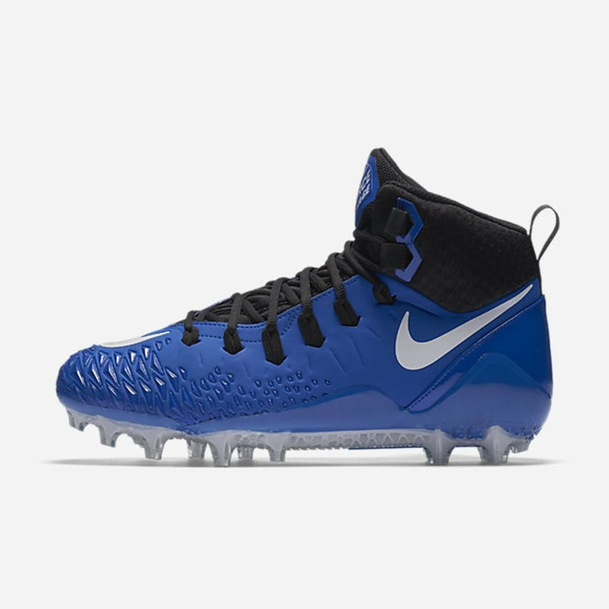 new mens 12/13 Nike force savage pro TD Football Cleats royal/black 880144-410 Special limited time