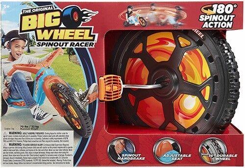 "The Original Big Wheel 16/"" Spin-Out Racer Orange w// Flames"