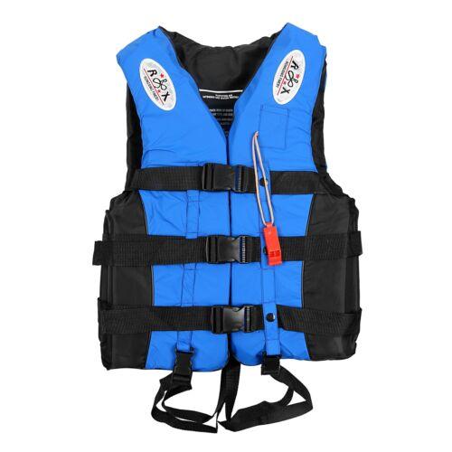 Adult Kids Lifesaving Vest Swimming Fishing Ski Buoyancy Aid Sailing Life Jacket
