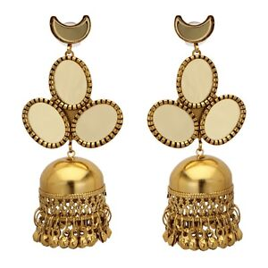 2019 Fashion Uk Indian Bollywood Ethnic Gold Plated Pearl Jhumka Earring Party Fashion Jewelr Jewelry & Watches