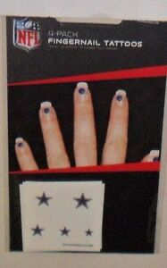 DALLAS-COWBOYS-20-TEMPORARY-FINGERNAIL-TATTOOS-FAST-FREE-SHIPPING
