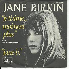 7'Jane Birkin/Serge Gainsbourg >Je t'aime../jane b.< KULT!!  GERMANY/ALLEMAGNE