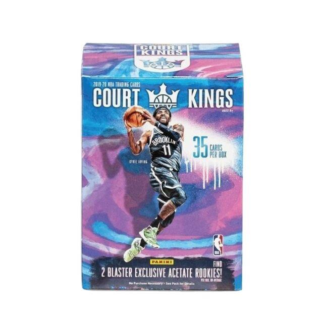 2019 2020 Panini Court Kings NBA Basketball Trading Cards BLASTER Box In Stock
