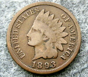 UNITED-STATES-1893-ONE-CENT-INDIAN-HEAD