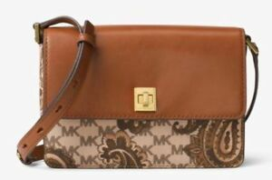 cf7be7fa1a01 Image is loading New-Michael-Kors-Natalie-Heritage-Paisley-MK-Signature-