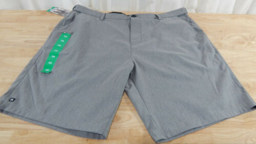 Expandable Waistband Flat Front Shorts Men/'s MICROS Comfort 2 Way Stretch
