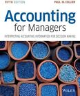 Accounting for Managers by Paul M. Collier (Paperback, 2015)
