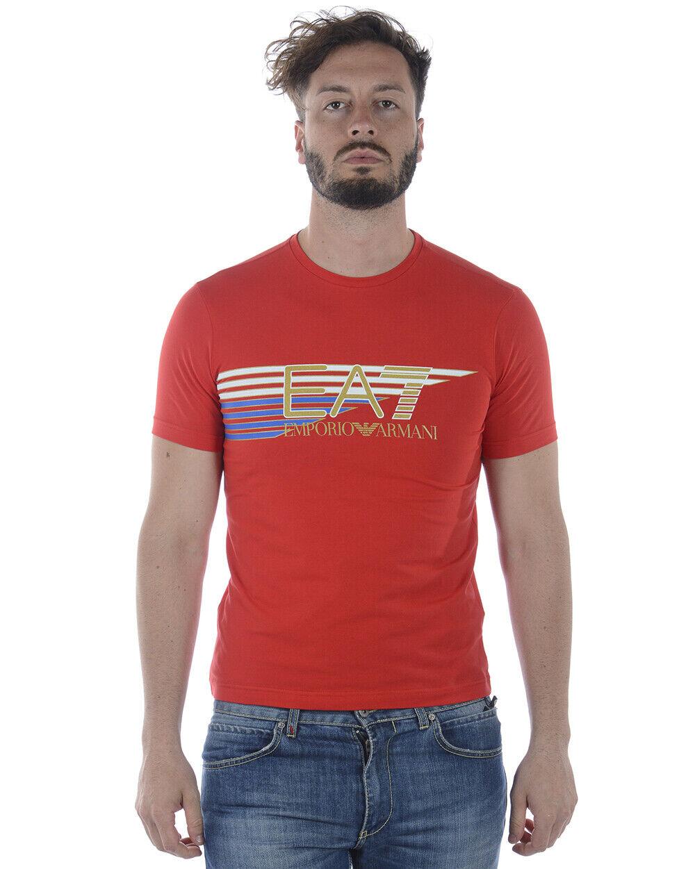 Emporio Armani EA7 T hemd schweißhemd Man rot 3ZPTA0PJM5Z 1451 Sz XXL MAKE OFFER