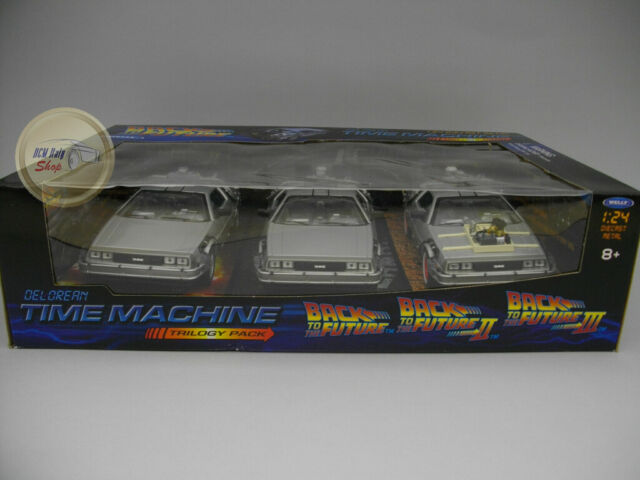 De Lorean Back to The Future Gift Box - Welly 1:24 - WE22400SI