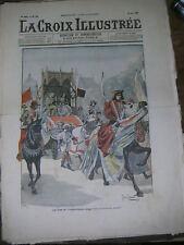 La croix illustrée N° 243 1905 Les fêtes de l'Indépendance Belge Jean Jamet
