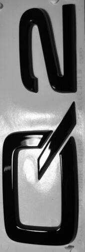 Original Audi Q2 Schriftzug schwarz Tuning Exclusive Black Edition Emblem Logo