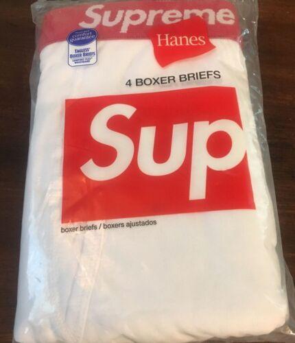 Supreme White Red Underwear Boxer Briefs Size Small SINGLES ONE BOXER